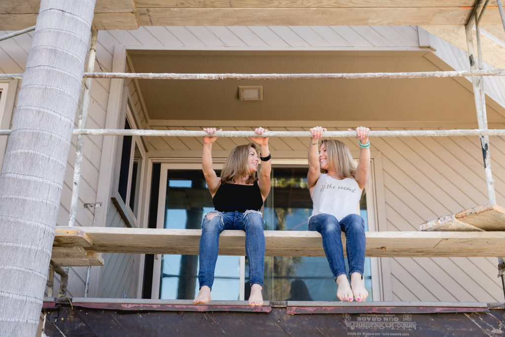 $1 Million House Flippers Kate and Beth Hall