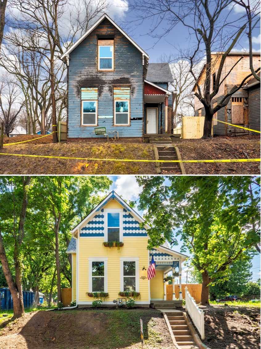 House Flip Before and After